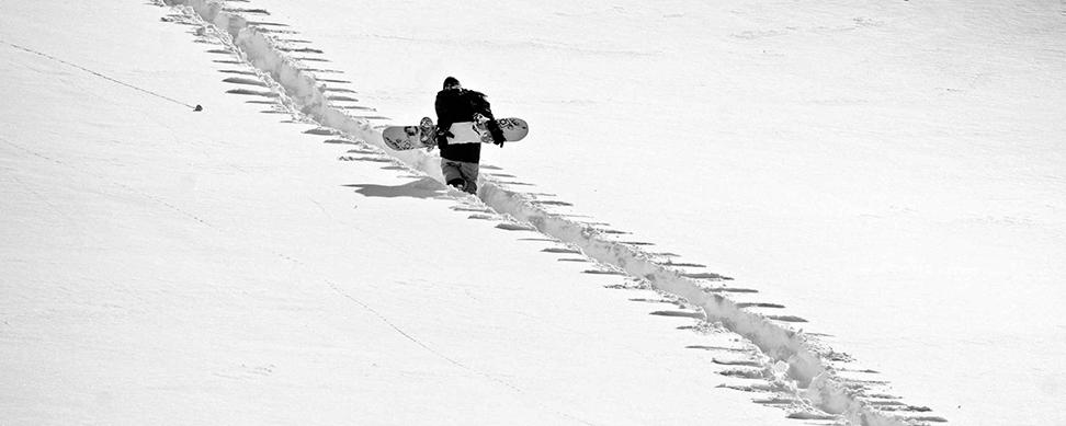 Snowboarding aHorsefeathers patří nerozlučně ksobě.