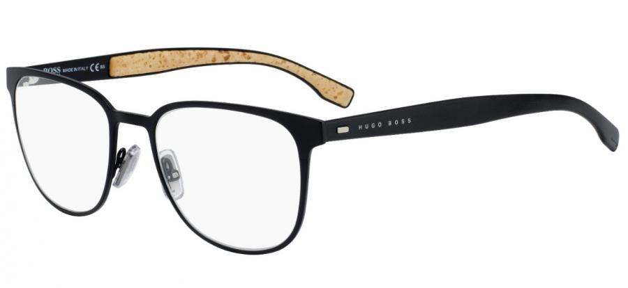 Stranice brýlí Hugo Boss BO 0885 0S2  jsou pokryté korkem, který je velmi příjemný nanošení ajistě nadchne nejen milovníky přírodních materiálů.