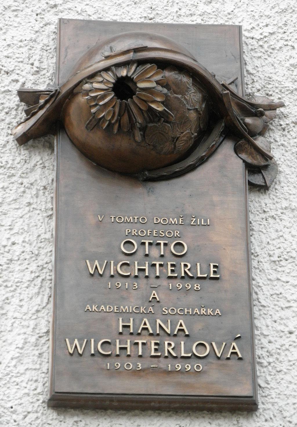 Pamětní deska Otto Wichterle