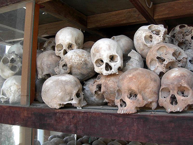 Oběti Rudých Khmerů