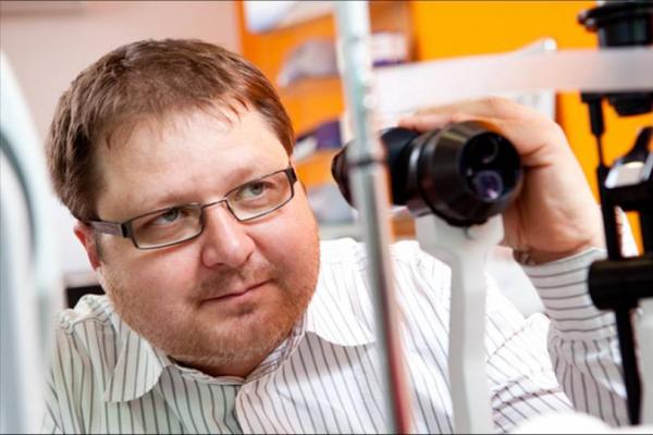 Optik Tomáš Haberland o zraku