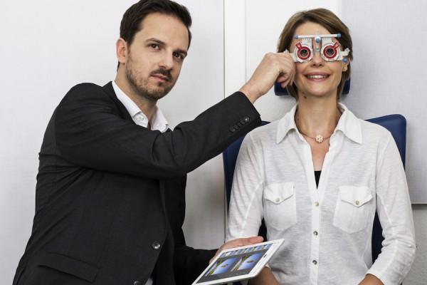 paskal 3D měření zraku