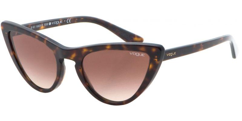Kočičí tvar brýlí Vogue - sluneční brýle vaktuálním stylu cateye