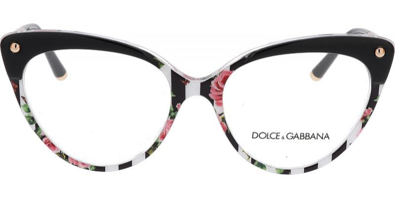 Designové dámské brýle Dolce Gabbana jsou vhodné prozábrus multifokálních skel